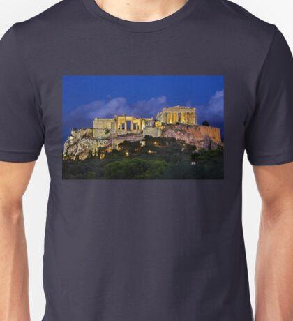 The Parthenon & the Propylaea Unisex T-Shirt