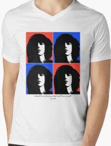 Patti Smith- American Artist Mens V-Neck T-Shirt