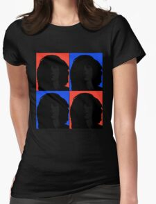 Patti Smith- American Artist Womens Fitted T-Shirt