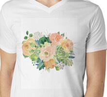 Summer bouquet Mens V-Neck T-Shirt