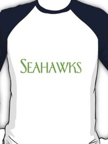 Seattle Seahawks x Frasier mashup – NFL, Seattle Pride, American Football, Frasier Crane T-Shirt