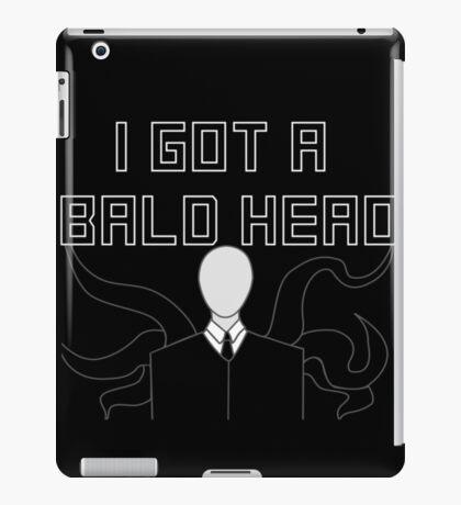 Slender Man Got A Bald Head iPad Case/Skin