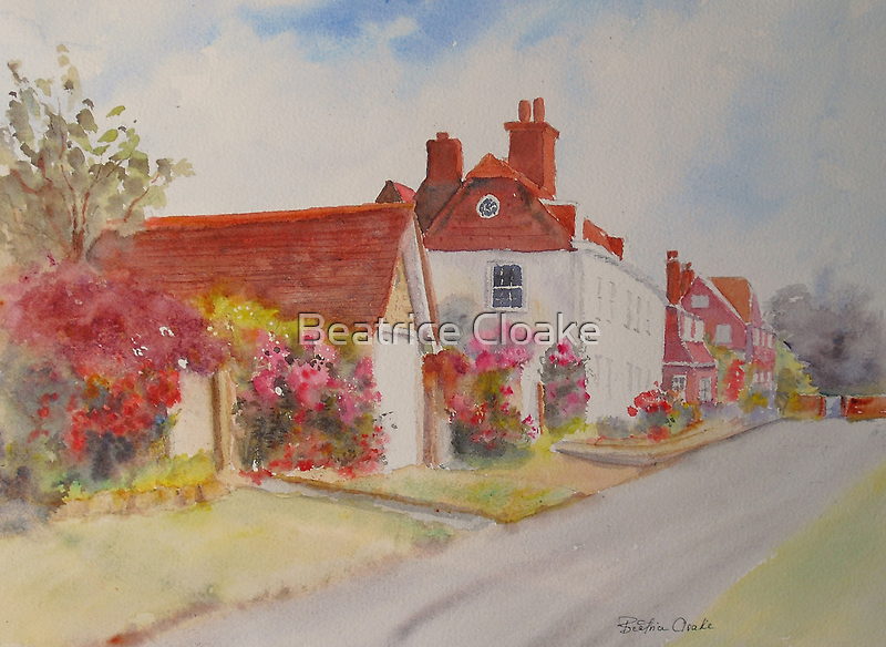 Another corner of Winchelsea by Beatrice Cloake Pasquier