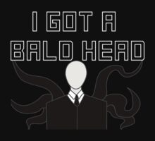 Slender Man Got A Bald Head by SlenderMayne