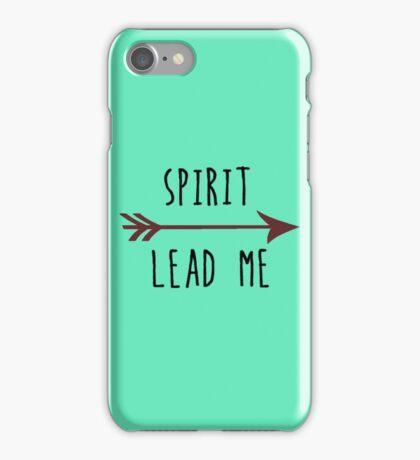 Spirit Lead Me iPhone Case/Skin