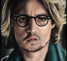 Johnny Depp by stevencraigart