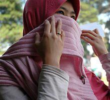 moslem girl by bayu harsa