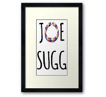 Joe Sugg - Loom Bands! Framed Print
