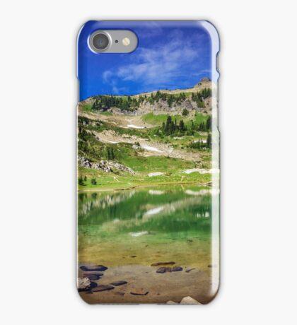 Mountain Lake Pano iPhone Case/Skin