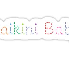daikini baby Sticker