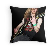 Raw Deal Throw Pillow