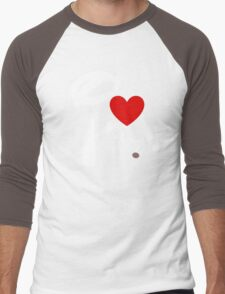 I Heart Chip 'n' Dale (Inverted) Men's Baseball ¾ T-Shirt