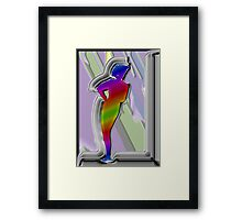 Modern Model Sculpture Framed Print