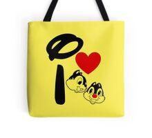 I Heart Chip 'n' Dale Tote Bag