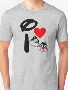 I Heart Chip 'n' Dale T-Shirt