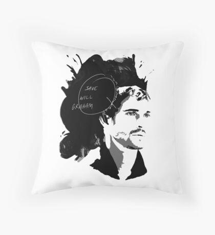 Save Will Graham Throw Pillow