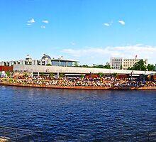 Capital Beach Panorama by metronomad