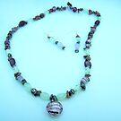 Semi-Precious Gemstone Necklace - set by anaisnais
