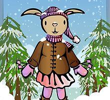 Little Snow Rabbit by elledeegee