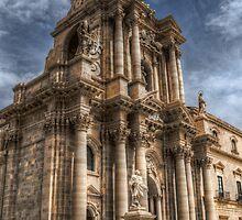 Il Duomo di Siracusa by Andrea Rapisarda