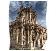 Il Duomo di Siracusa Poster