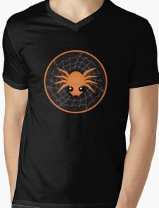 Halloween Spider Mens V-Neck T-Shirt