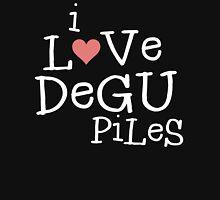 I Love Degu Piles (light) Unisex T-Shirt