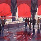 Fish Markets, Venice by Joe Cartwright
