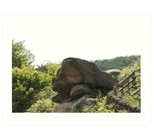 The Toads Mouth Derbyshire Art Print