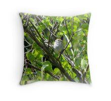 Backyard Bird Throw Pillow