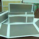 silver design gift box - homemade by anaisnais