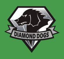 Diamond Dogs - 2015 Edition  (MGSV) Baby Tee