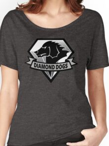 Diamond Dogs - 2015 Edition  (MGSV) Women's Relaxed Fit T-Shirt