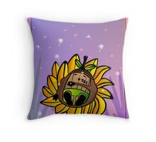 The Sleepy Acorn Throw Pillow