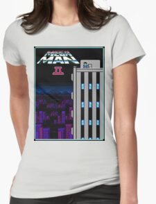 MegaMan2 Womens Fitted T-Shirt