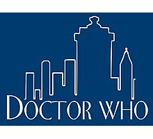 Doctor Who x Frasier mashup – The Doctor, Frasier Crane, Whovian Photographic Print
