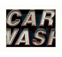 Car Wash, Broadway Style Art Print