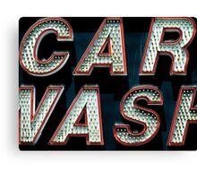 Car Wash, Broadway Style Canvas Print