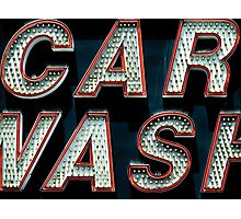 Car Wash, Broadway Style Photographic Print