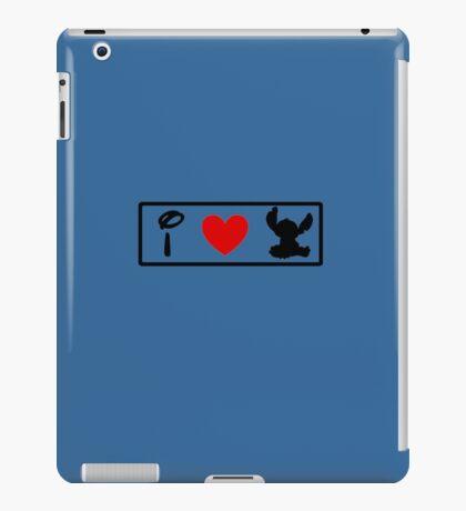 I Heart Stitch (Classic Logo) iPad Case/Skin