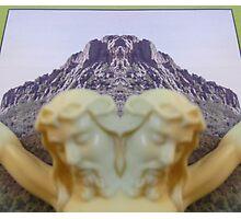Thumb Butte Prescott, AZ Photographic Print
