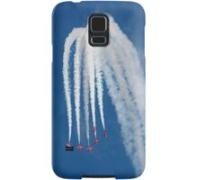 The Red Arrows downwards formation Samsung Galaxy Case/Skin