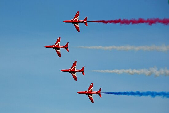 The Red Arrows 12 by Tony Steel