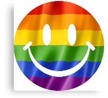 Smiley Face Pride T Shirts, Stickers and Other Gifts Canvas Print