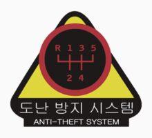 KDM - Anti-Theft System (Pattern 2) (dark) Kids Tee