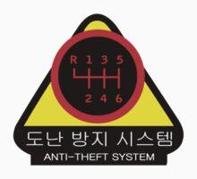 KDM - Anti-Theft System (Pattern 5) (dark) One Piece - Short Sleeve