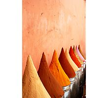 Souk Spices Photographic Print