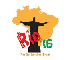 Rio '16 Brazil by vjewell