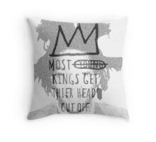 king of the art Throw Pillow