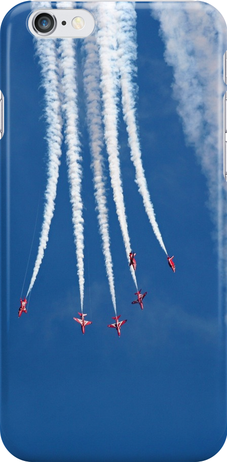 The Red Arrows descend and split out by Tony Steel